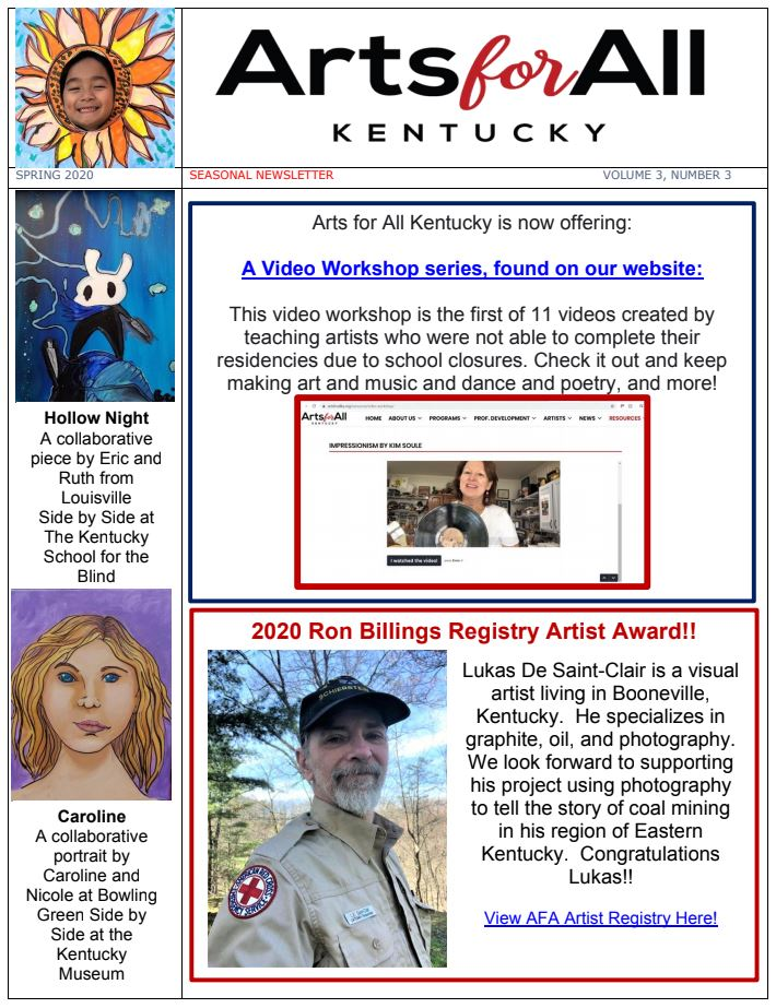 December 2019 Newsletter (PDF)